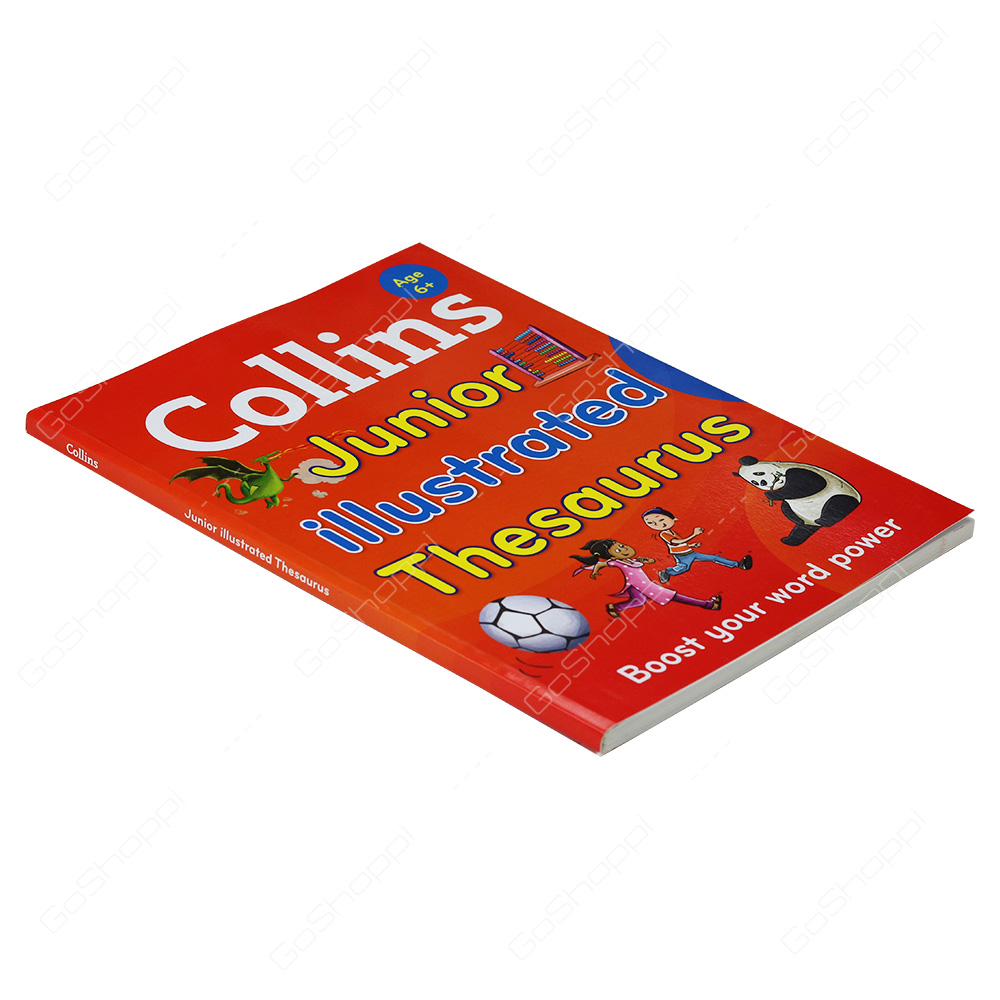 collins junior illustrated thesaurus boost your word power for age 6 collins primary dictionaries