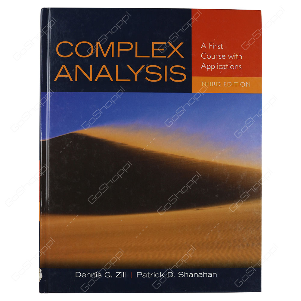 Complex Analysis 3rd Edition By Dennis G. Zill