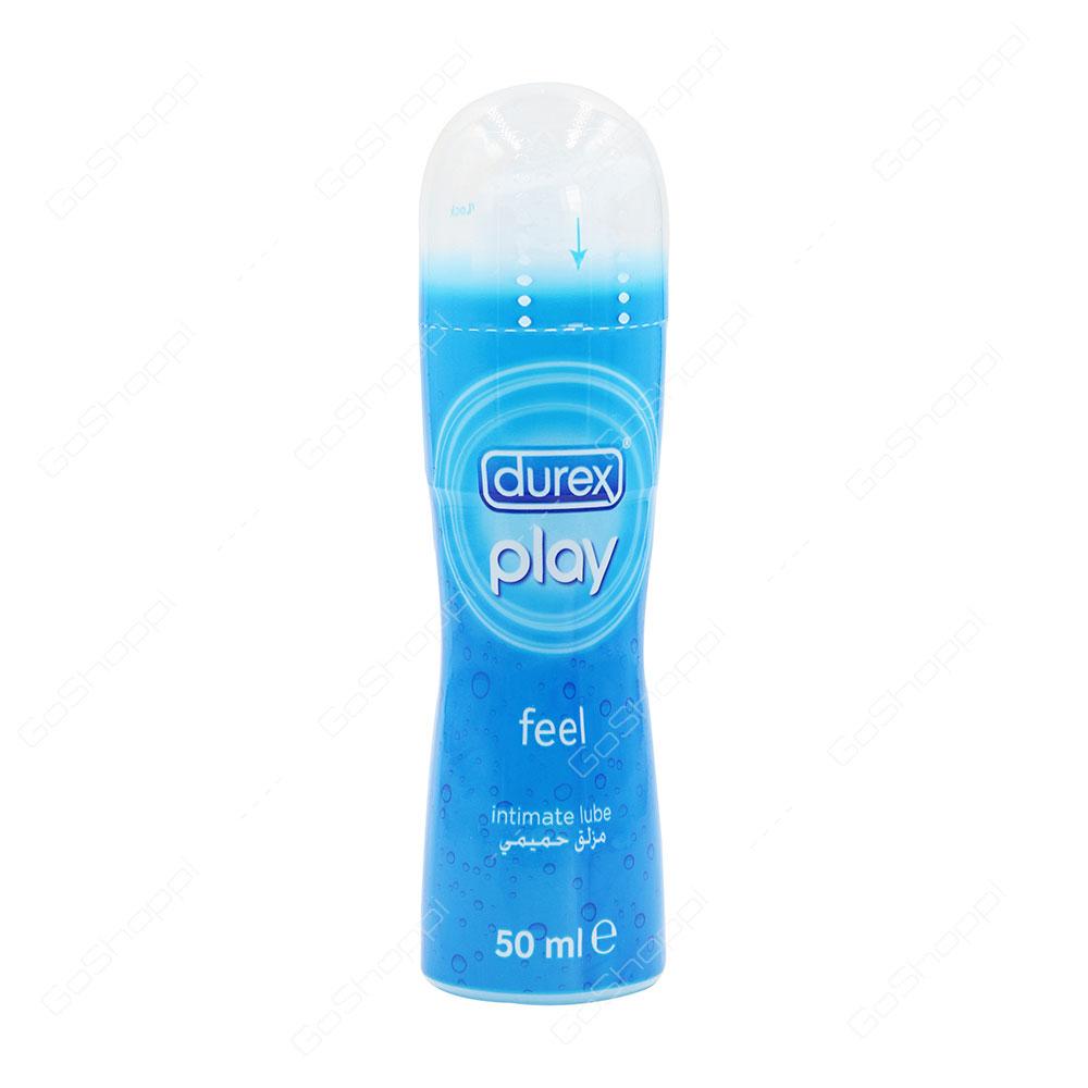 Durex Play Feel Intimate Lube 50 Ml Buy Online Lubricant Silky Smooth 100