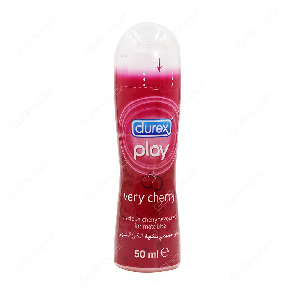Durex Play Very Cherry Intimate Lube 50 Ml Buy Online Massage 2 In Lubricant 200ml