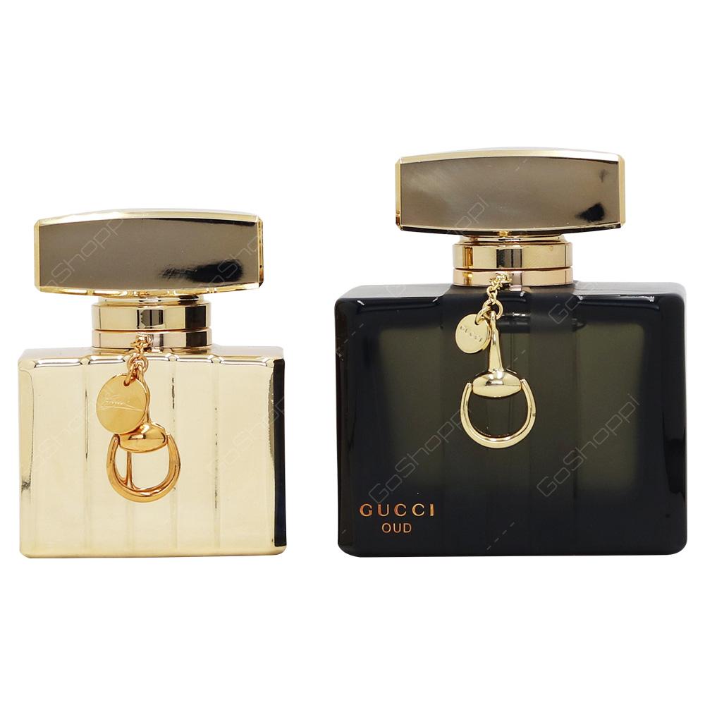 Gucci Oud Edp 75ml Premiere 30ml Gift Set 2pcs Buy Online Black 2 Pcs