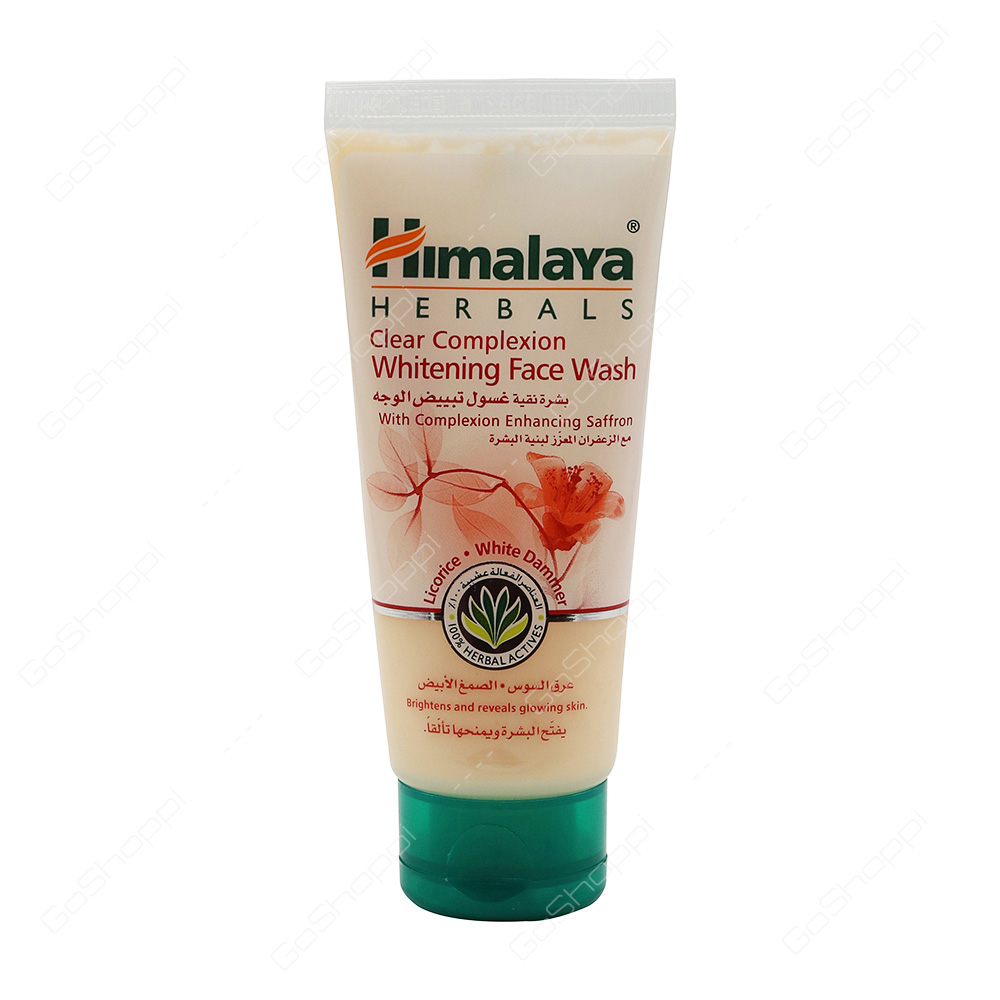 Himalaya Herbals Clear Complexion Whitening Face Wash 50 Ml Buy Online Ponds Age Miracle Day Cream Jar G