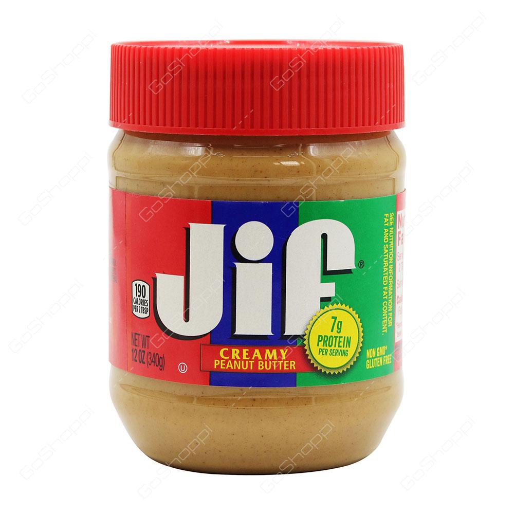 0e00714d67da Jif Creamy Peanut Butter 340 g - Buy Online