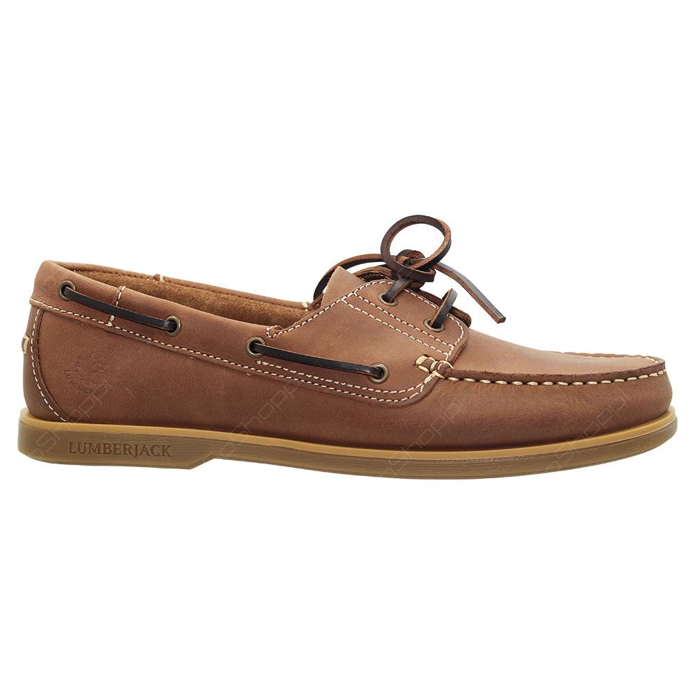 5eacf2bb3e2 Lumberjack Navigator Boat Shoes For Men - Brown - Tan - SM07804-004 ...