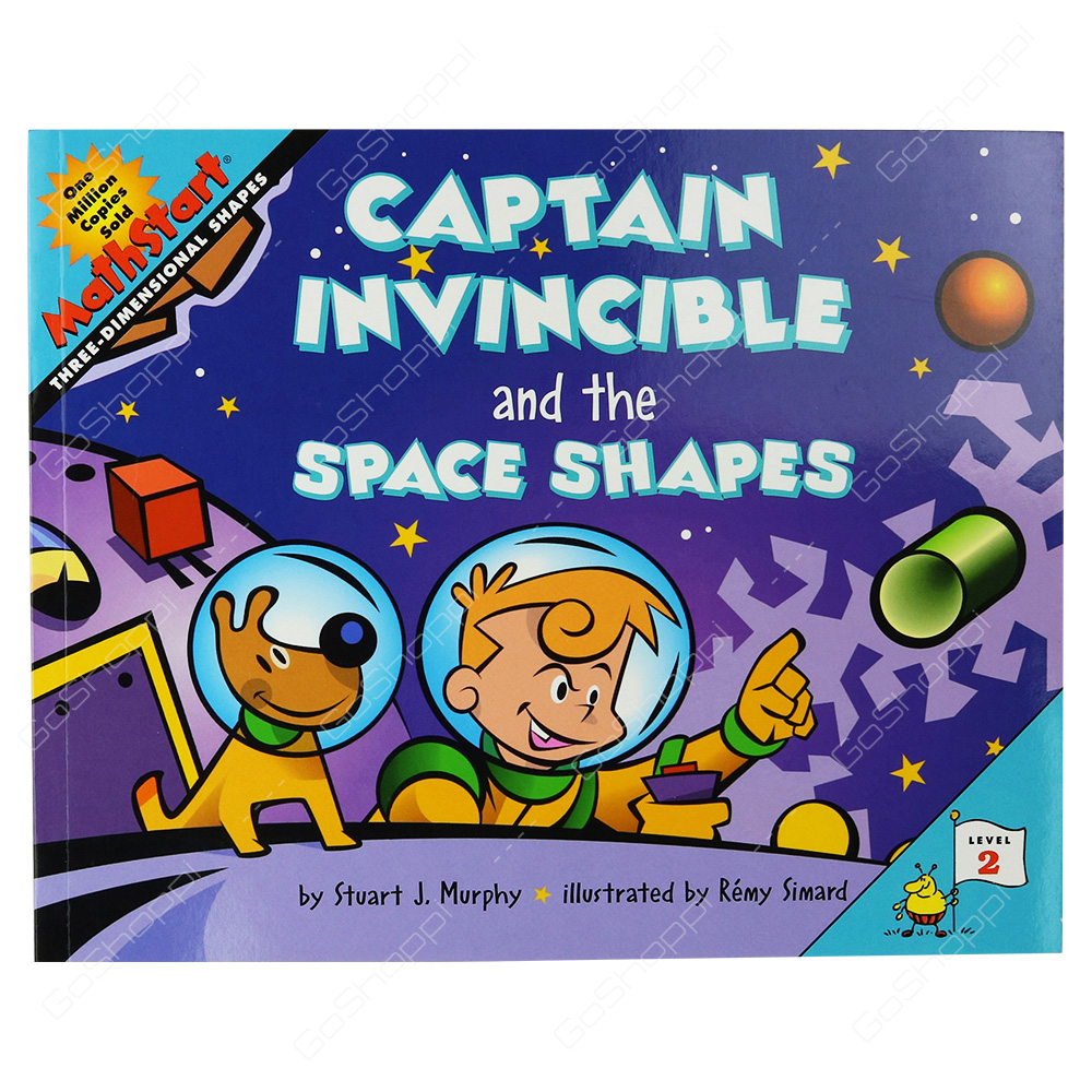 Mathstart - Captain Invincible And The Space Shapes Level 2 By Stuart J.  Murphy