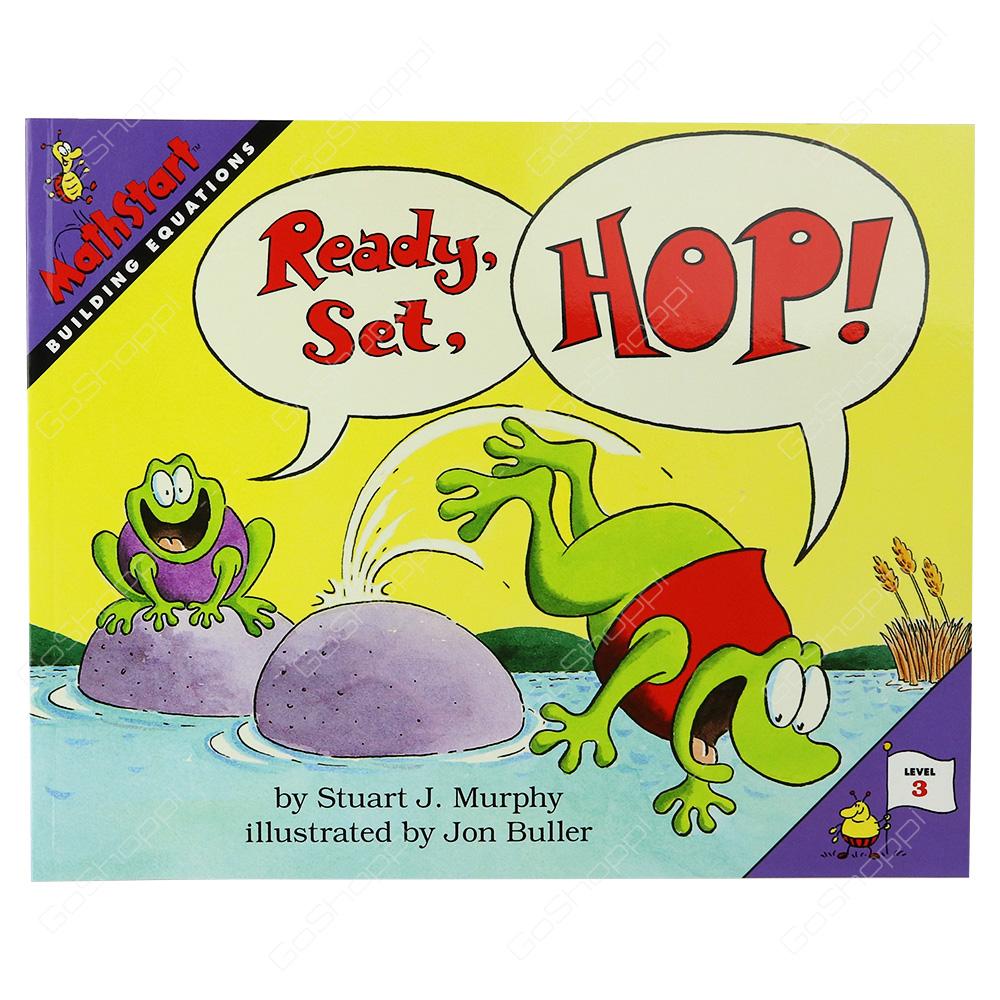 Mathstart - Ready, Set, Hop! Level 3 By Stuart J. Murphy