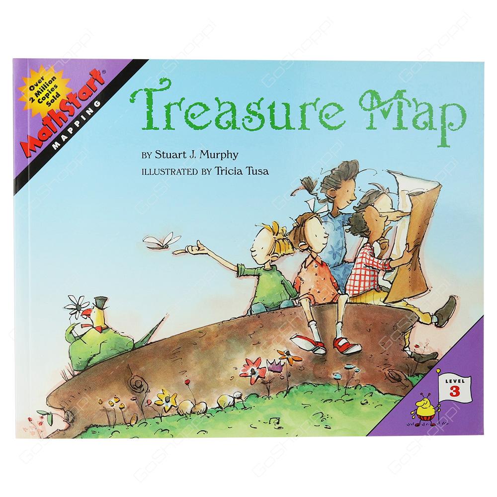 Mathstart - Treasure Map Level 3 By Stuart J. Murphy