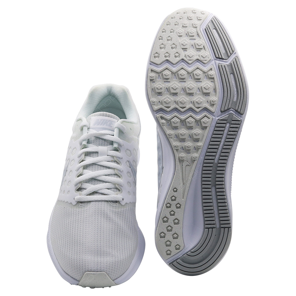 31d093596135dd ... Nike Downshifter 7 Running Shoes For Men - White - Pure Platinum -  852459-100 ...