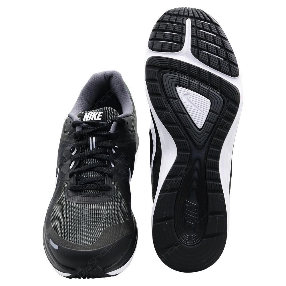 adf6b3bf90fa ... Nike Dual Fusion X2 Running Shoes For Men - Black - White - Dark Grey  ...