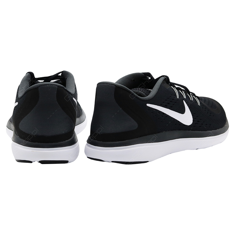 adde5963678a8 ... Nike Free RN Flex 2017 Running Shoes For Men - Black - White-Anthracite  -