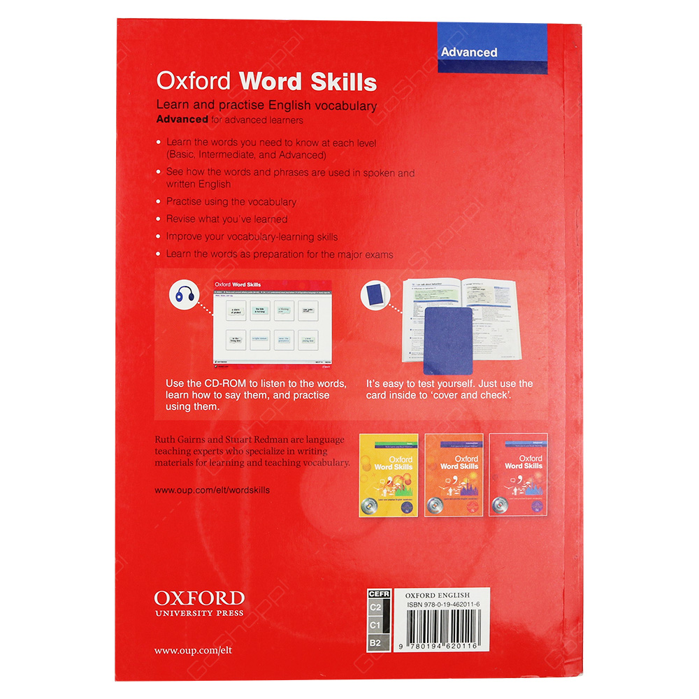 oxford word skills advanced  Oxford Word Skills Advanced - Student's Pack With Book And CD - Buy ...