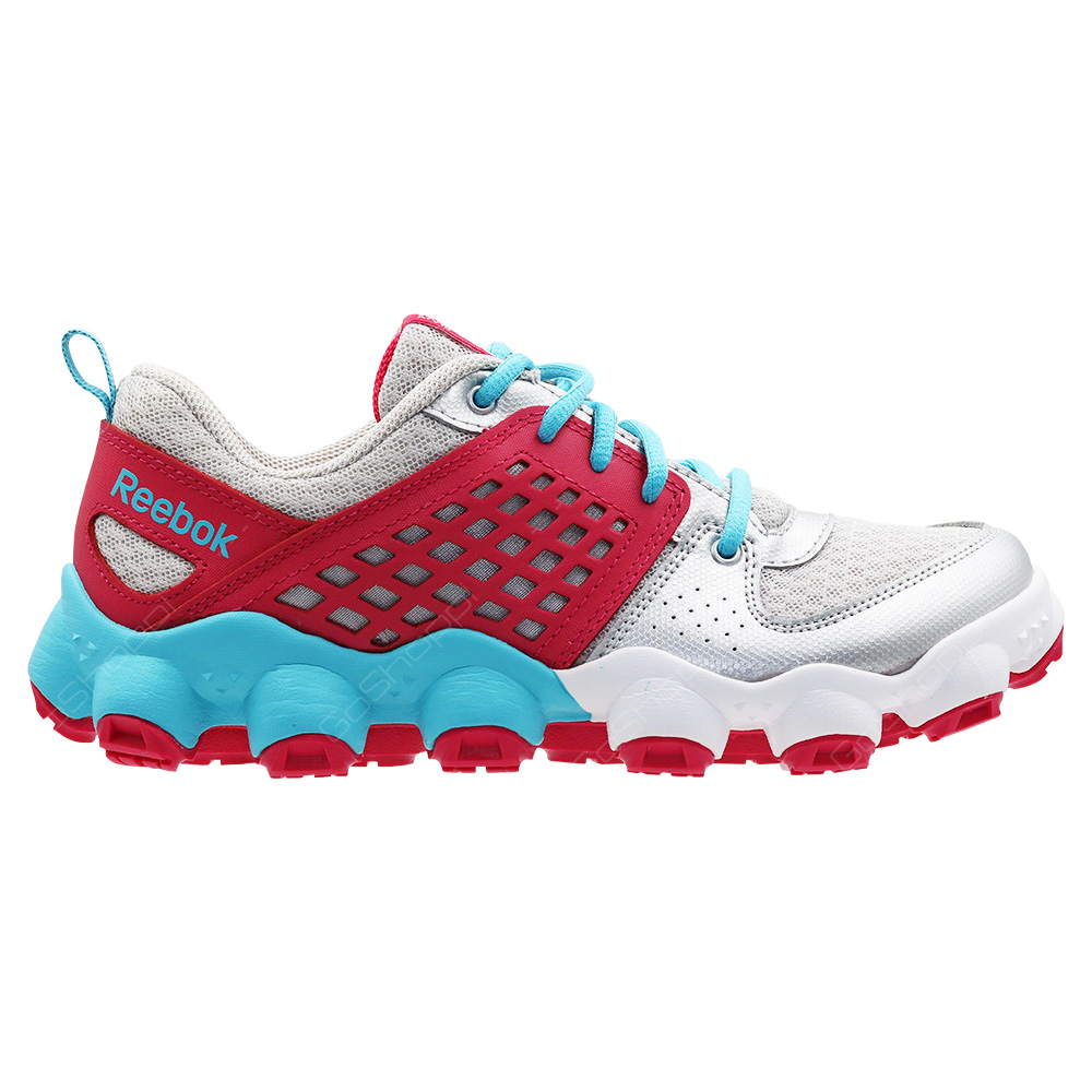 c149d024a3d2 Reebok ATV19 Ultimate II Running Shoes For Junior - Steel - Silver - Blue -  Pink