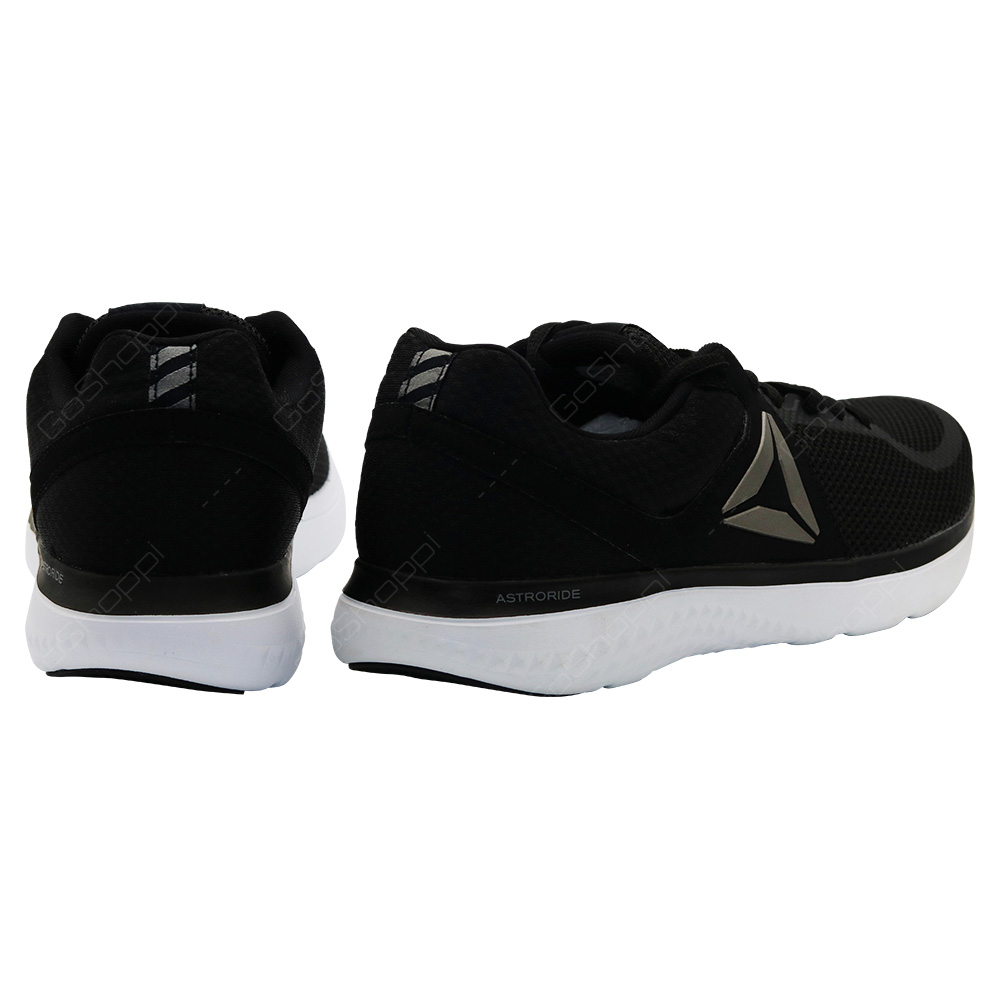 ... Reebok Astroride Run Running Shoes For Men - Black - White - Pewter -  BD2206 e8213448d