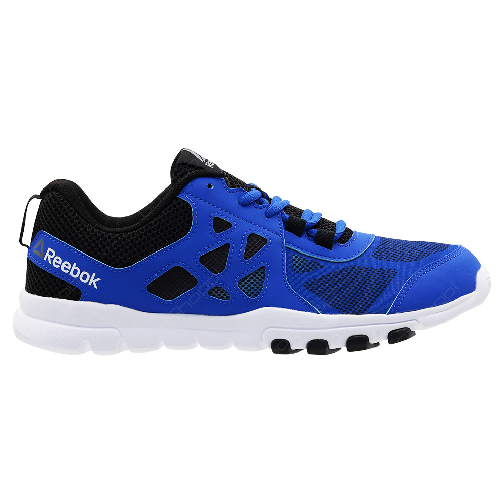 b1ed5120b09 Reebok Sublite Train 4 Training And Entertainment Shoes For Men - Awesome  Blue - Black -