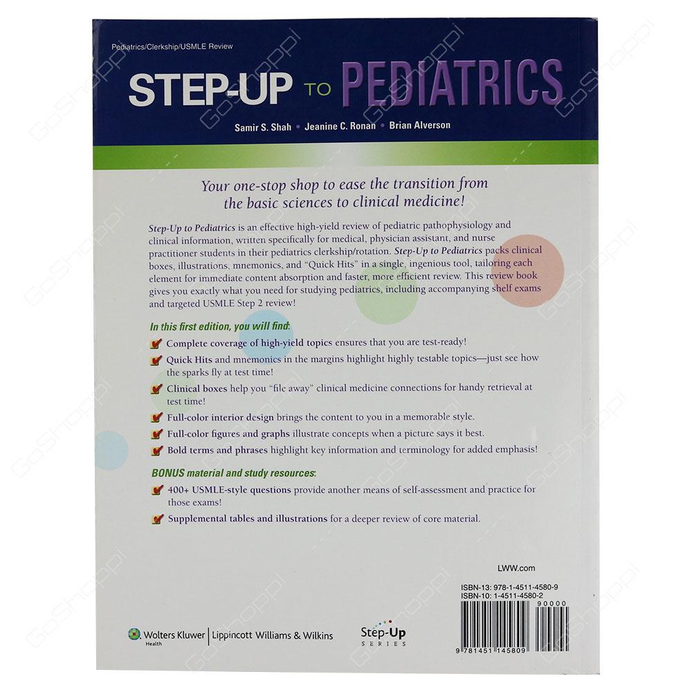 ... Step-Up To Pediatrics By Samir S. Shah ...