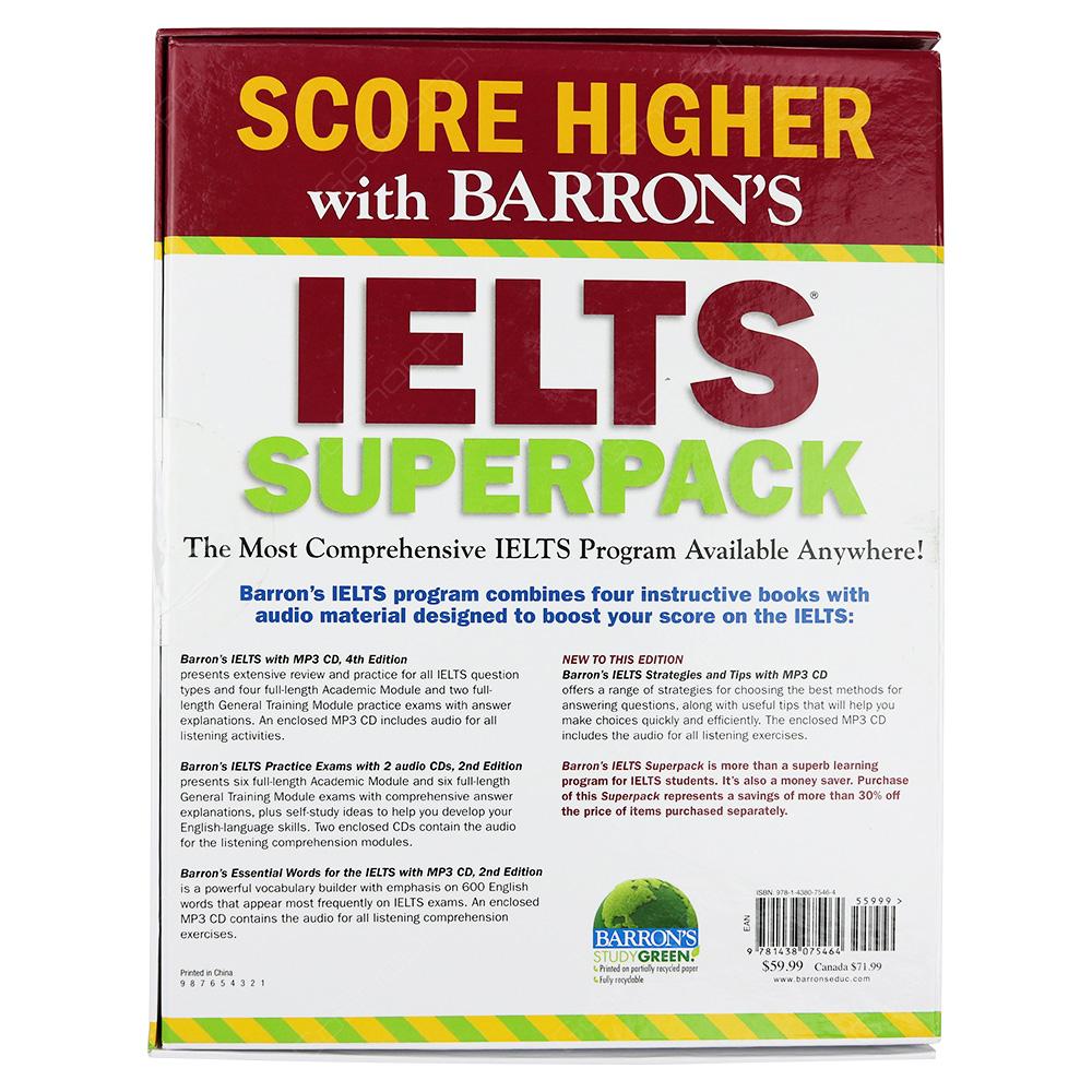 Barron's IELTS Superpack - Buy Online