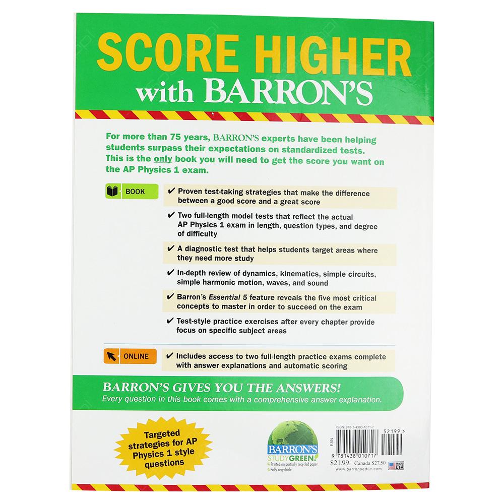 Barron's AP Physics 1 Plus Online Content - Buy Online
