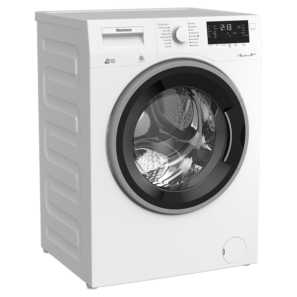 Blomberg 8kg 1400rpm Washing Machine - White - WNF8443WZC40
