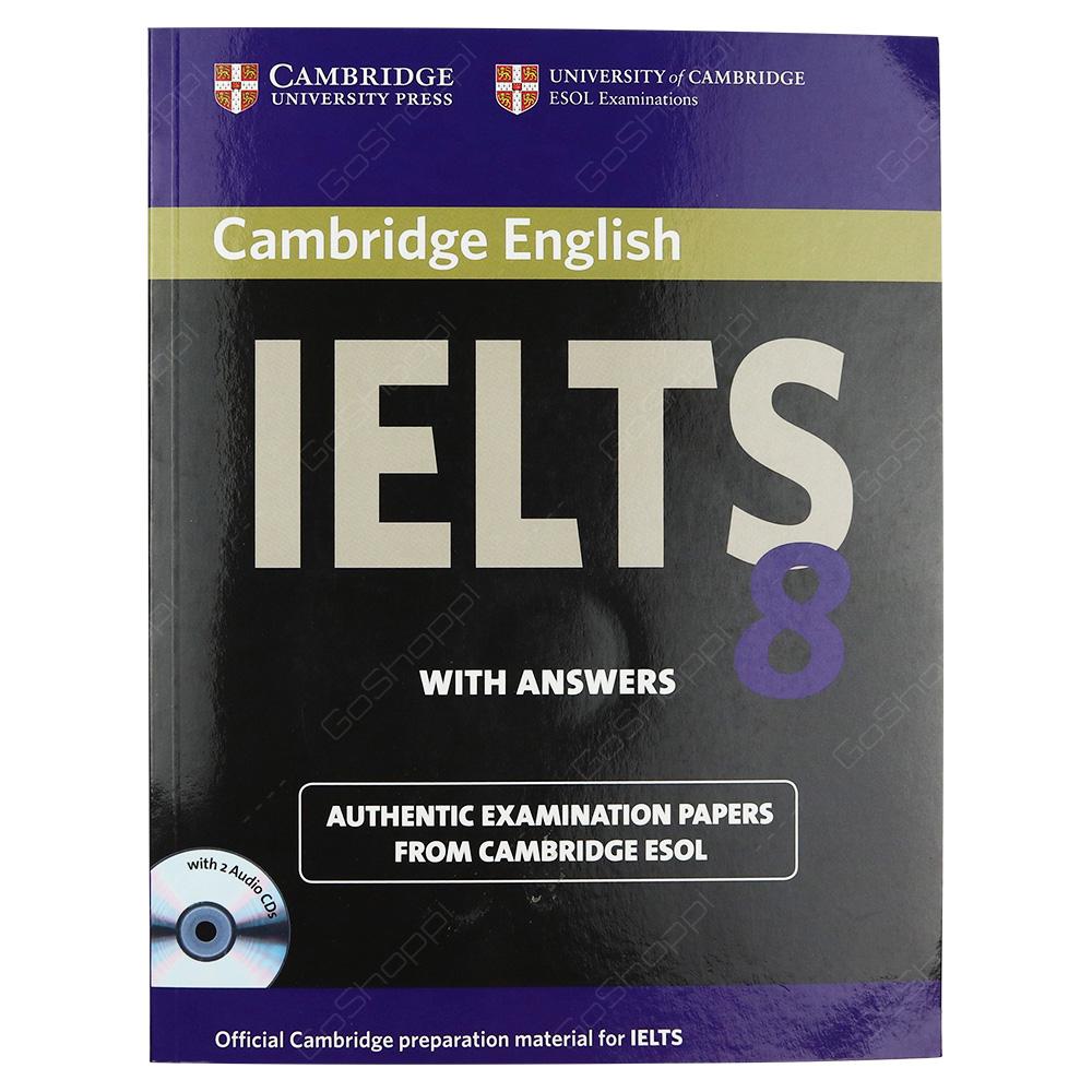 Cambridge IELTS 8 Self-Study Pack - Student