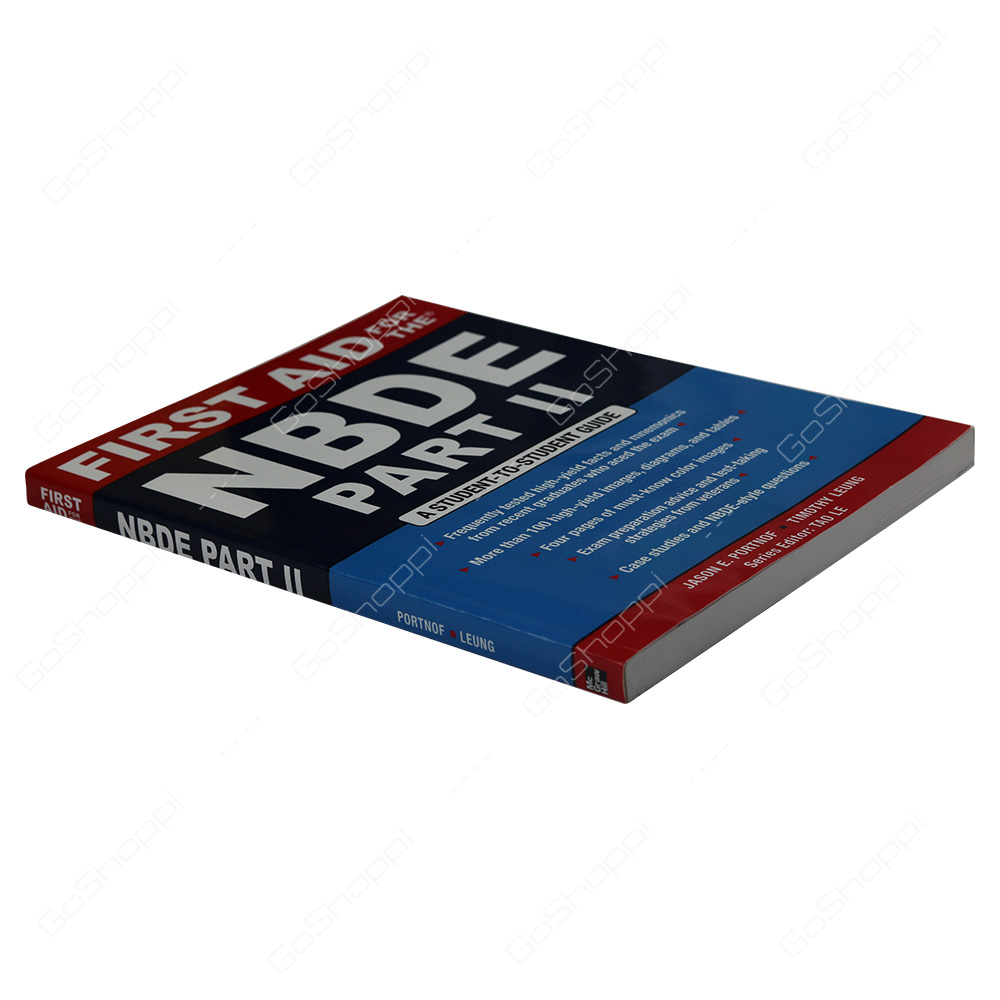 First Aid For The NBDE Part II By Jason E  Portnof - Buy Online