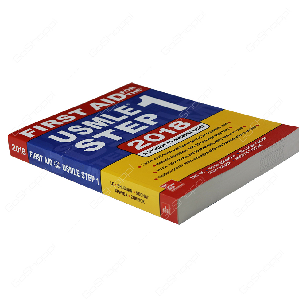 First Aid For The USMLE Step 1 2018 By Vikas Bhushan - Buy Online