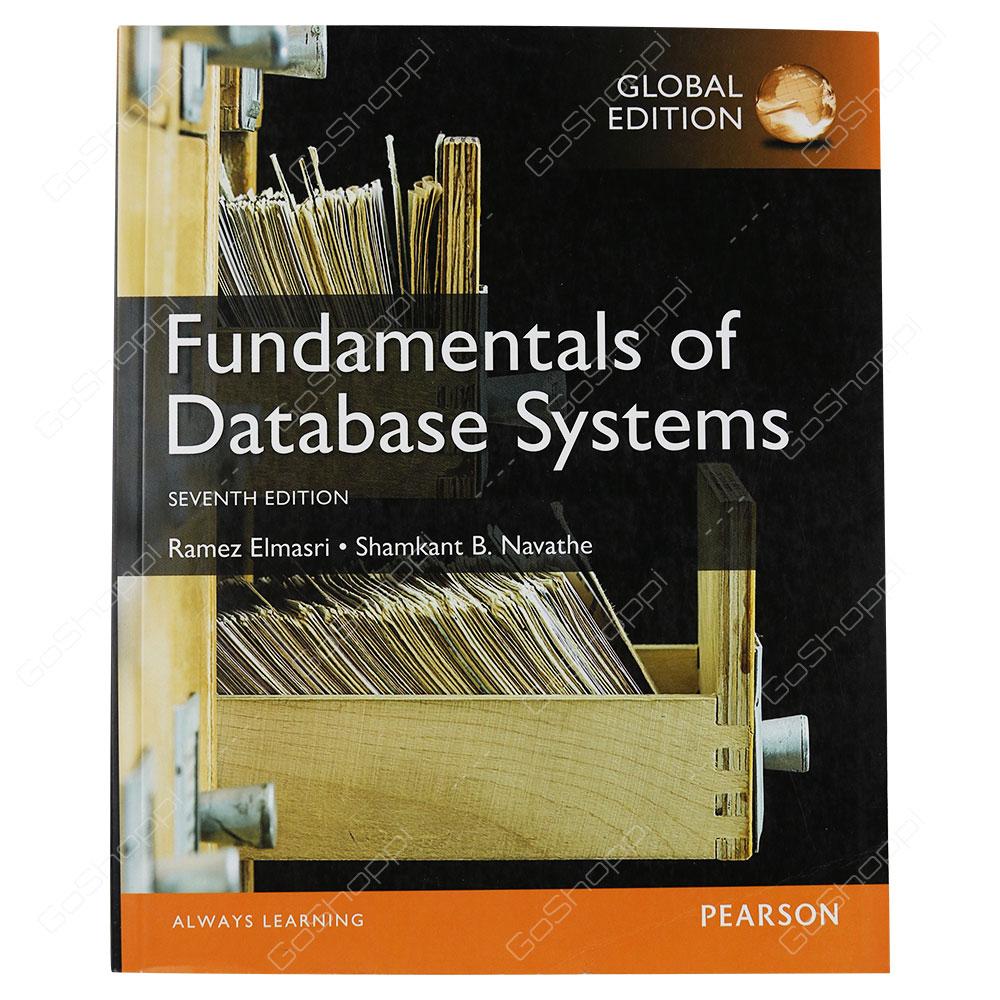Fundamentals Of Database Systems 7th Edition By Ramez Elmasri