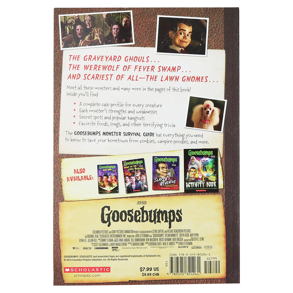 Goosebumps - Monster Survival Guide