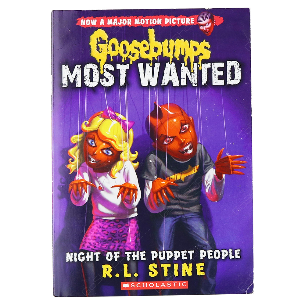 Goosebumps Most Wanted 8 - Night Of The Puppet People