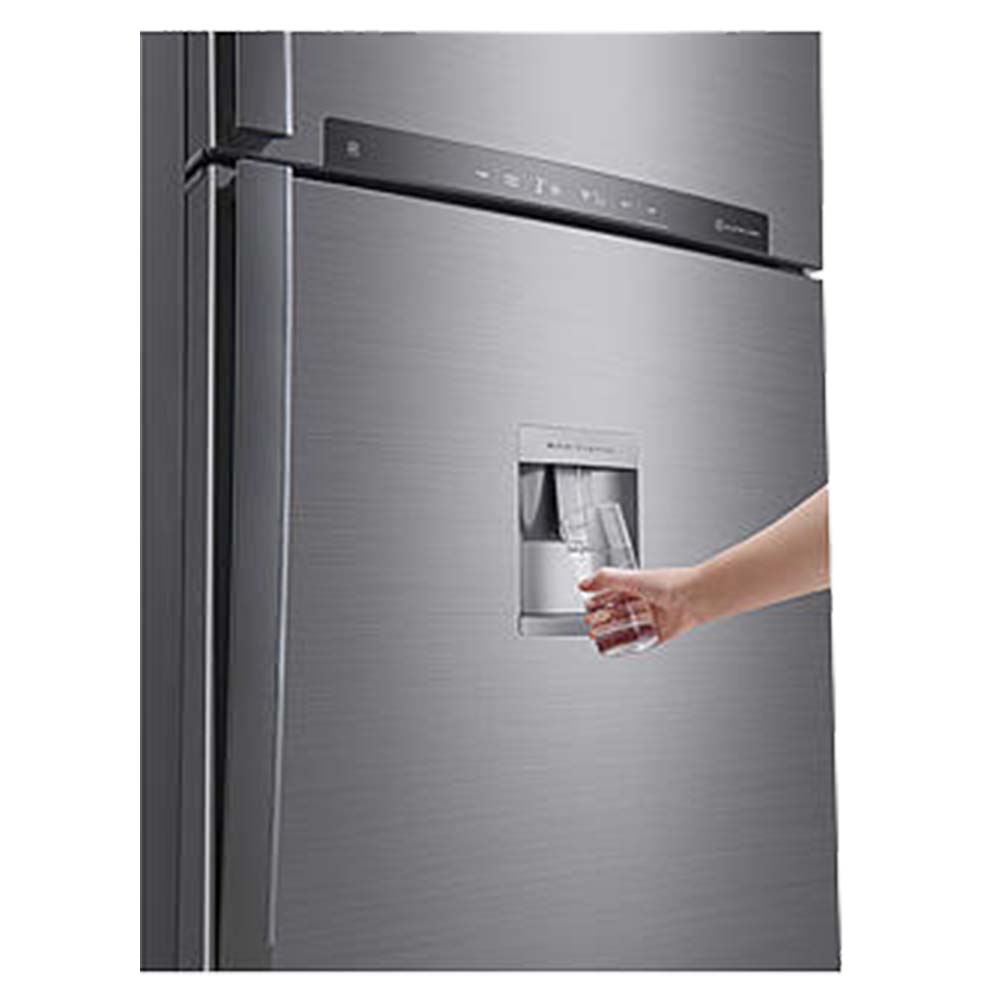 LG 830L Top Mount Refrigerator With Linear Compressor - Silver - GRF832HLHU
