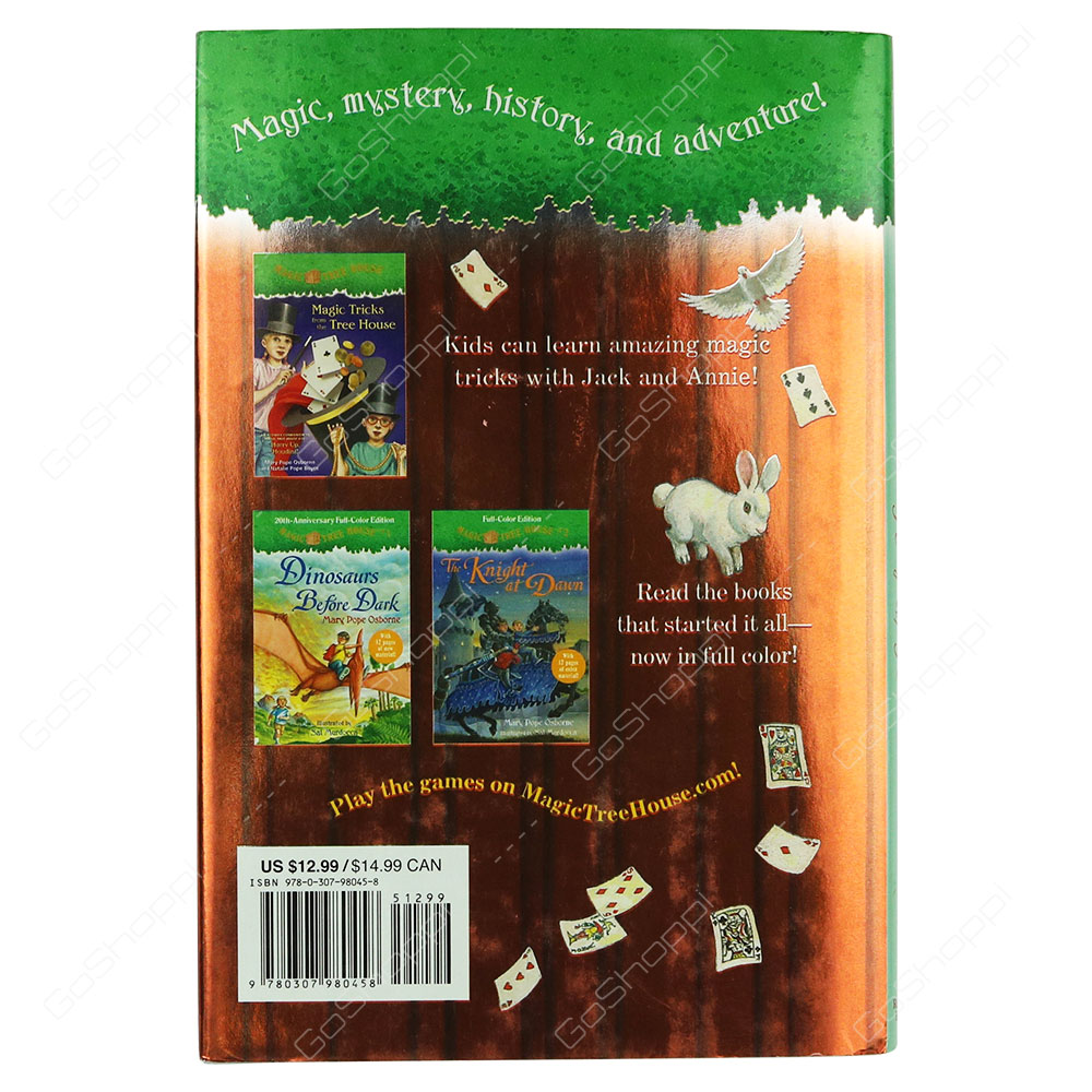 Magic Tree House 50 Hurry Up Houdini By Merlin Mission