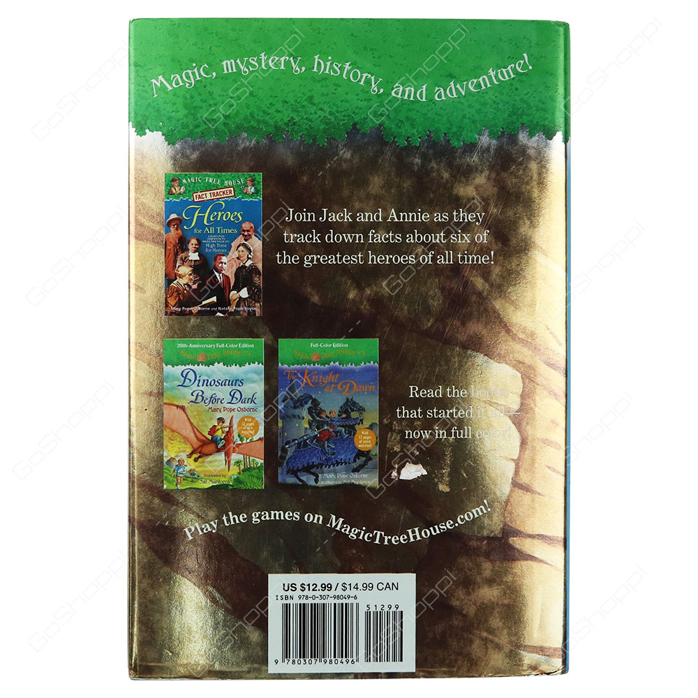 Magic Tree House 51 High Time For Heroes By Mary Pope