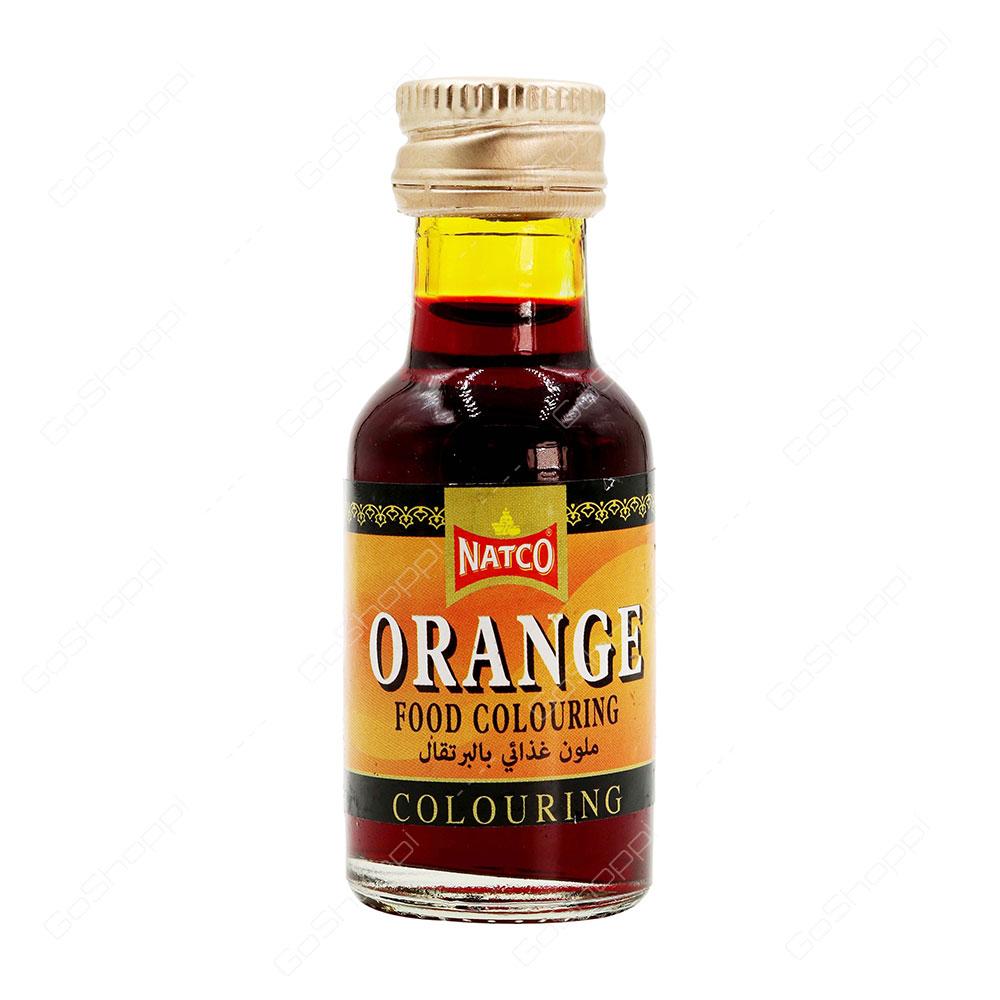 Natco Orange Food Colouring 28 ml - Buy Online