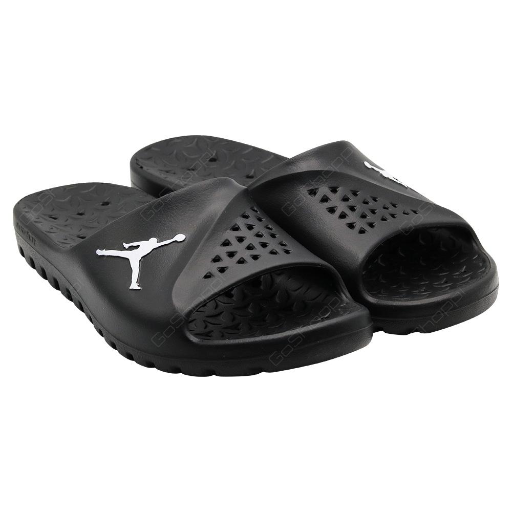 save off 727fb 5e2d0 Nike Jordan Super Fly Team Slide For Men - Black - White ...