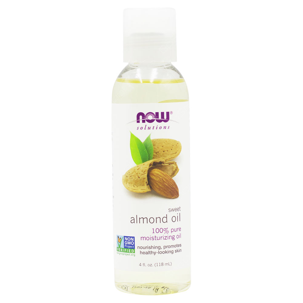 Now Solutions Sweet Almond Oil 118ml