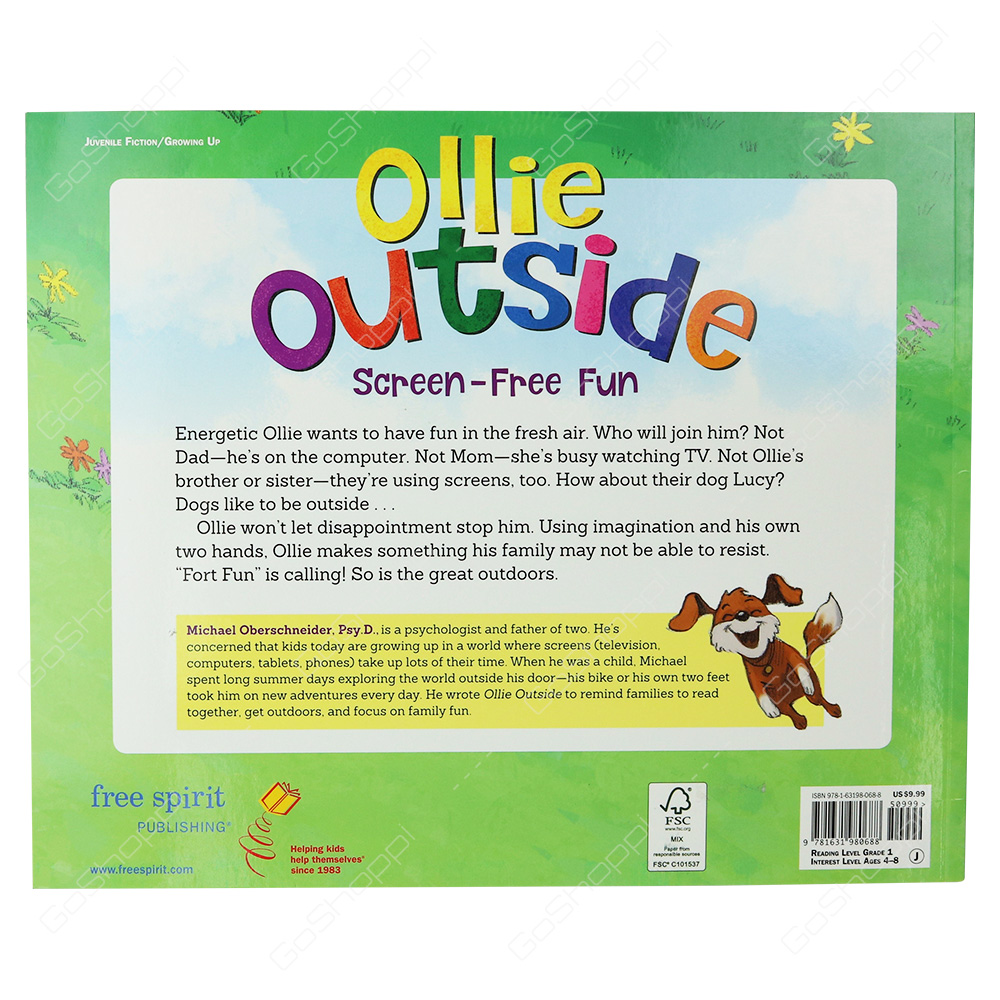 Ollie Outside Screen-Free Fun By Michael Oberschneider - Buy Online
