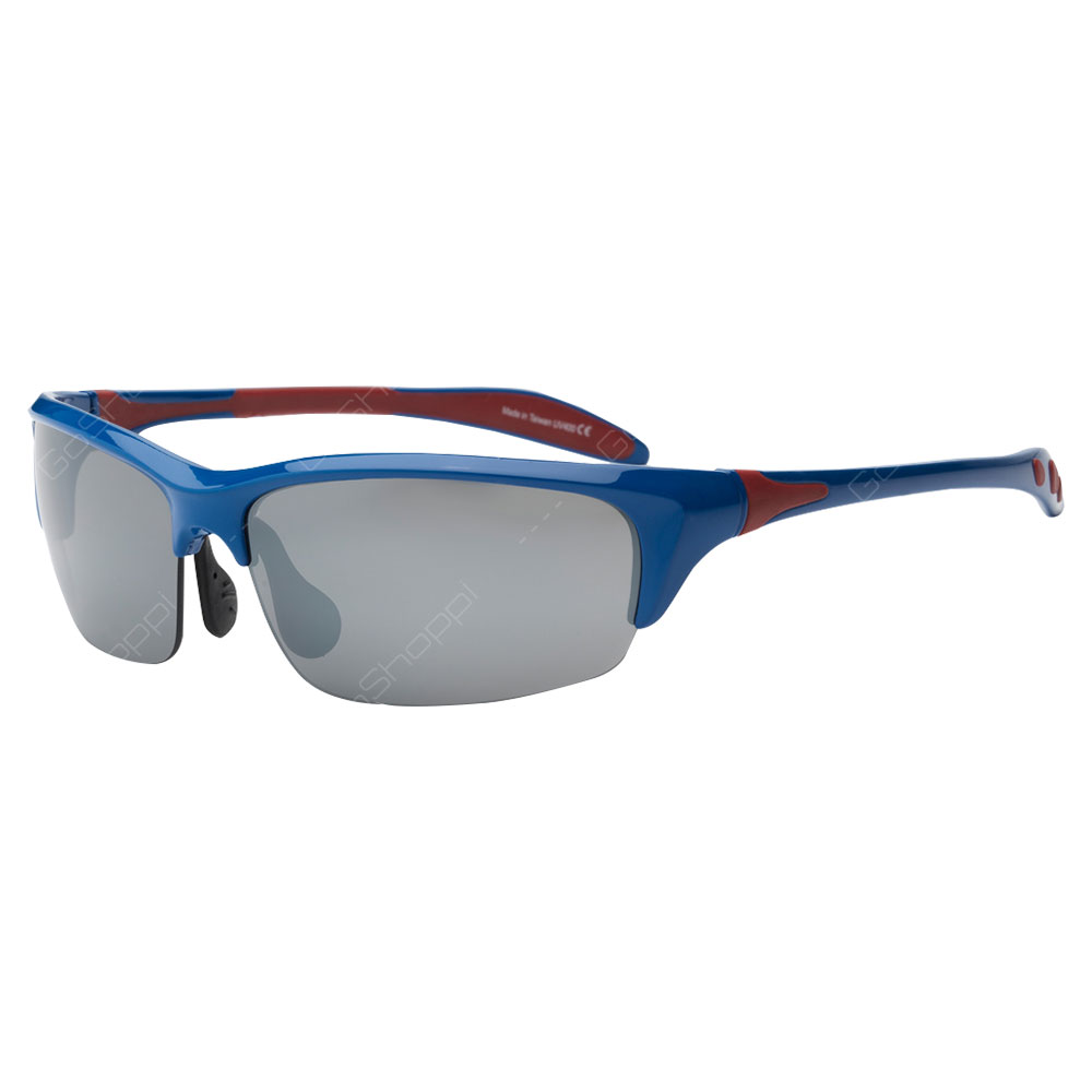 Real Shades Blade PC Sunglasses For Adults - Royal
