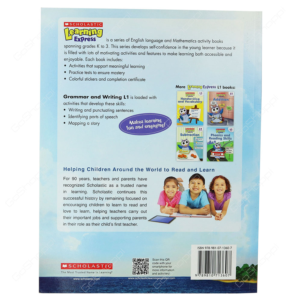 Scholastic Learning Express Level 1 - Grammar And Writing