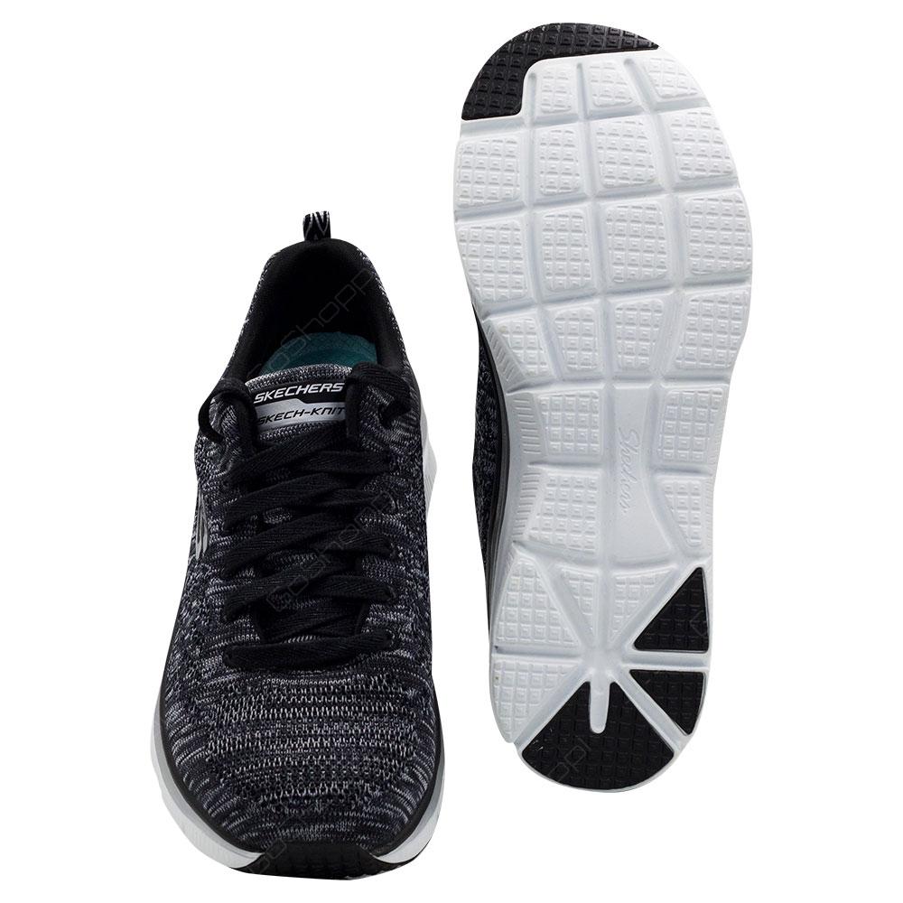 liquidación de venta caliente Página web oficial mejor venta Skechers Fashion Fit-Style Chic Shoes For Women - Black - White ...