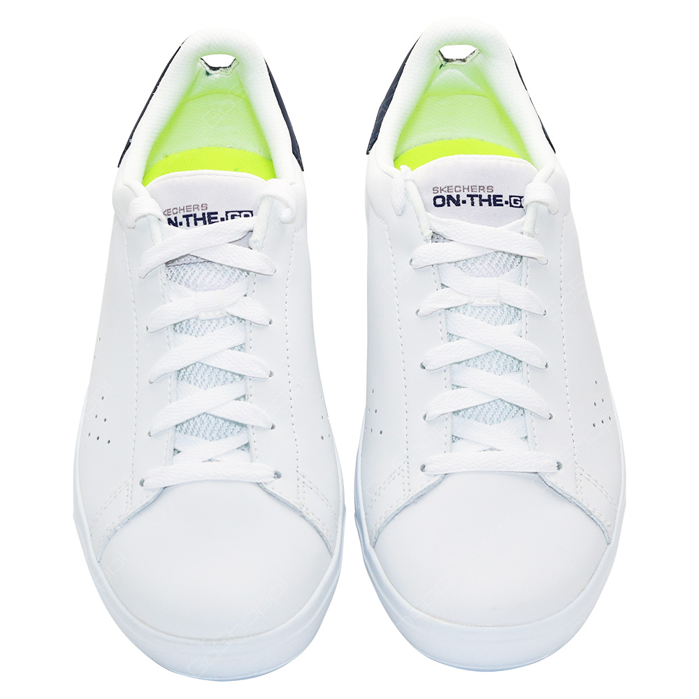 a7536fe91ec77 Skechers On The Go Vulc 2 - Assure Shoes For Men - White - Navy ...