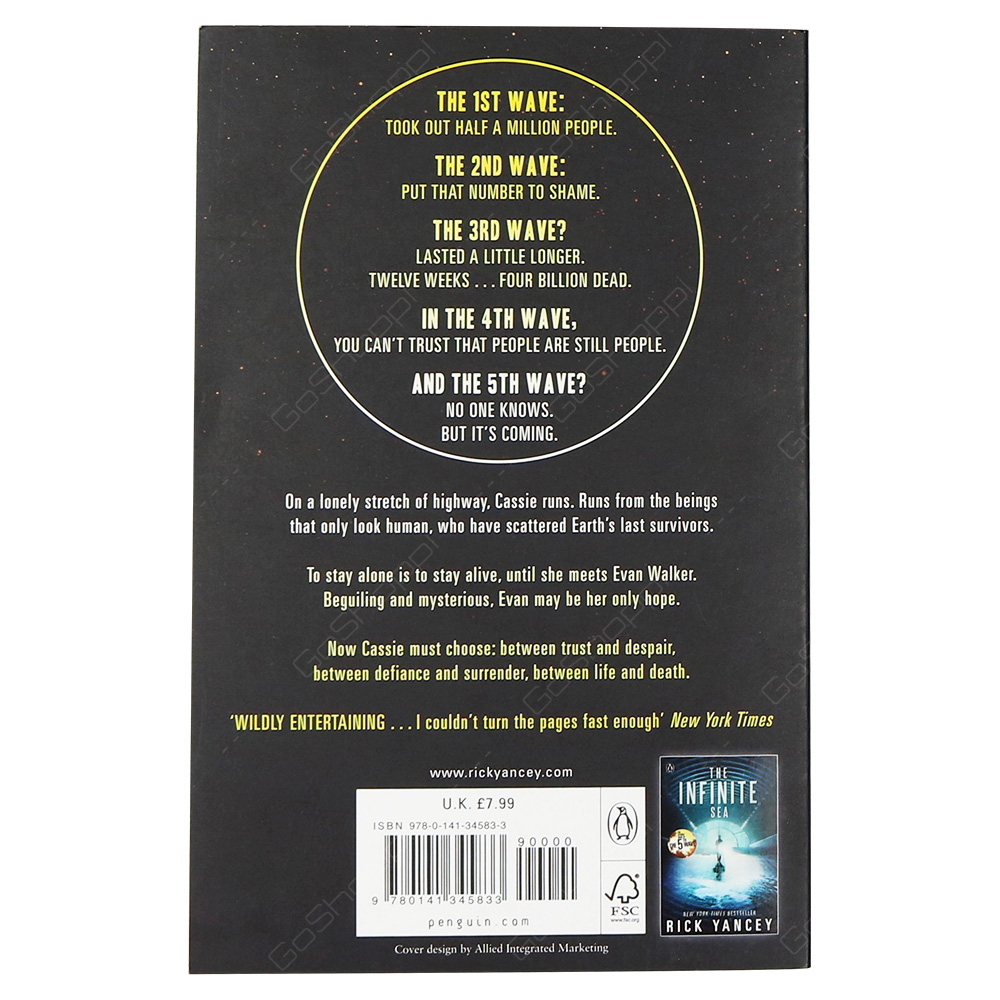 The 5th Wave - Book 1 Paperback