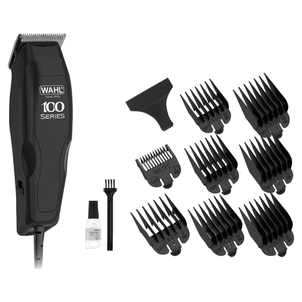 Wahl Home Pro 100 Hair Clipper 3 Pin Black - 1395-0410
